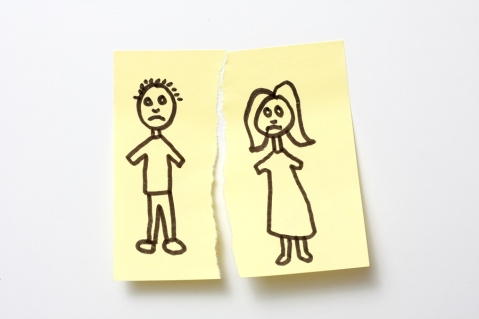 cartoon image of couple