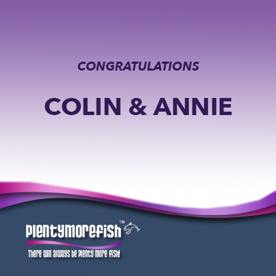 Colin & Annie, Success Story