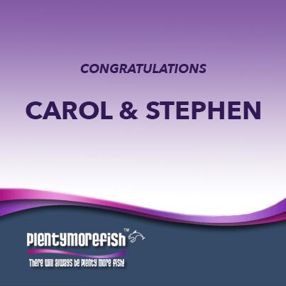 Carol and Stephen